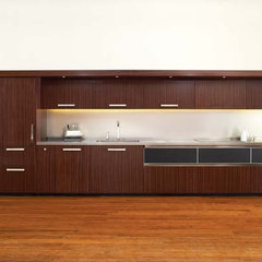 modern kitchen by De Meza + Architecture