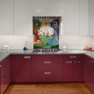 Foto på ett funkis kök