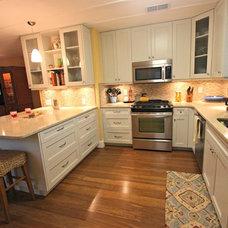 Contemporary Kitchen by Kitchen Design by Laura, LLC