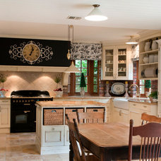 Farmhouse Kitchen by Brad Hill Imaging