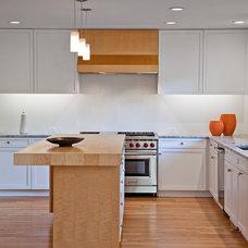 Transitional Kitchen by Balodemas Architects