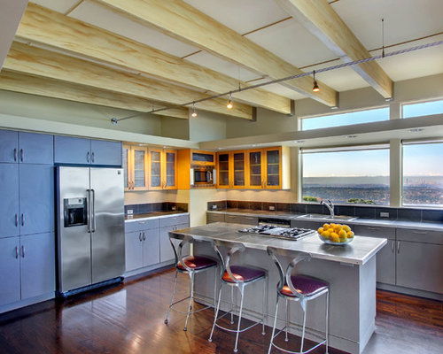 No Upper Cabinets Houzz