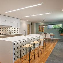A Modern Kitchen Goes Bold