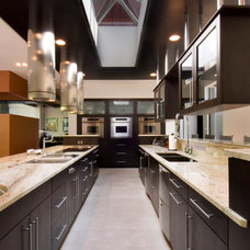 Contemporary Kitchen by Somrak Kitchens, Inc