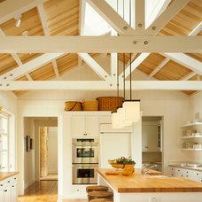 Farmhouse Kitchen by Walker Warner Architects