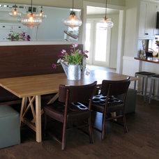 Traditional Kitchen by Suzette Sherman Design
