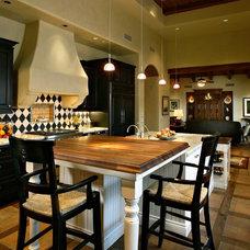 Transitional Kitchen by Janet Brooks Design