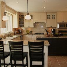 Traditional Kitchen by Sonya Kinkade Design