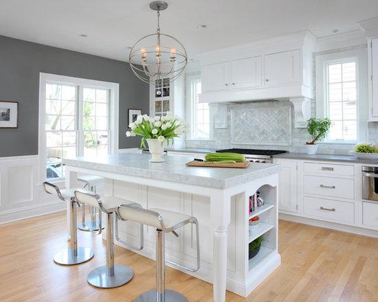 Updated Historic Kitchen | Houzz