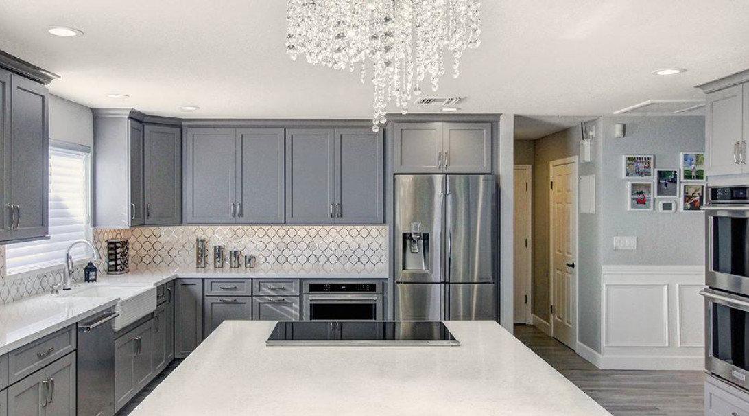 Sophisticated Glam - Kitchen Remodel