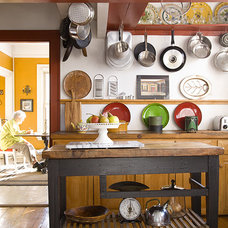 Eclectic Kitchen by James R. Salomon Photography