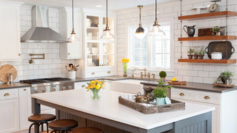 Sophisticated Nostalgia Kitchen in Deer Park