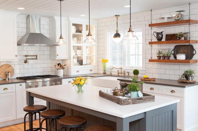 Farmhouse Kitchen by Advance Design Studio, Ltd.
