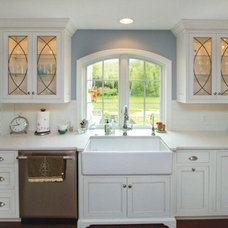Traditional Kitchen Cabinets by Rojahn Custom Cabinetry