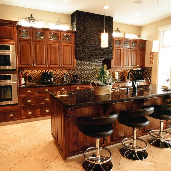 Walnut Gallery Kitchen