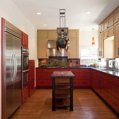 eclectic kitchen by Cravotta Studios -Interior Design