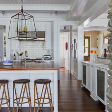 Beach Style Kitchen by Colby Construction
