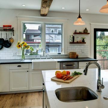 South Berkeley Open Eclectic Kitchen