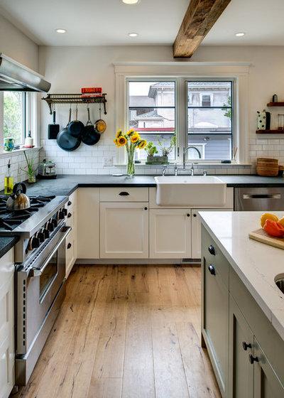 Farmhouse Kitchen by Levitch Associates, Inc