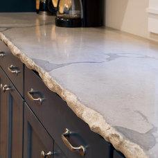 Contemporary Kitchen by Eco Designer Concrete
