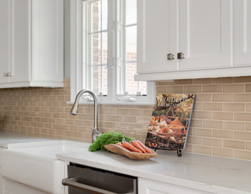 South Charlotte, NC Kitchen remodel -Transitional mixed with rustic elements