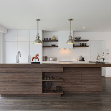 Industrial Kitchen by Capital Building