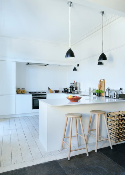 Scandinavian Kitchen by Brown + Brown Architects