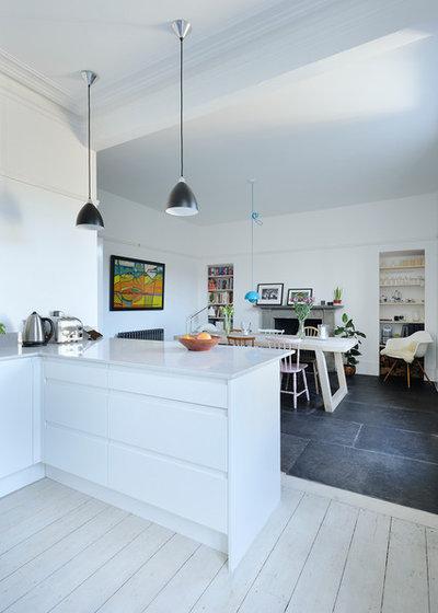 La zona giorno open space moda superata o ancora di tendenza for Foto di cucina e soggiorno a pianta aperta