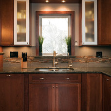Contemporary Kitchen by Design First  Builders