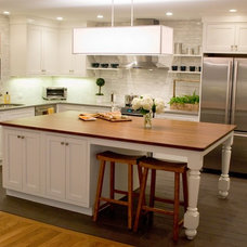 Traditional Kitchen by Persephone Irene Design