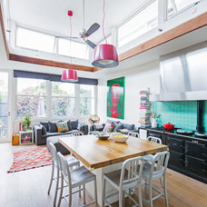 Eclectic Kitchen by Stamp Interiors