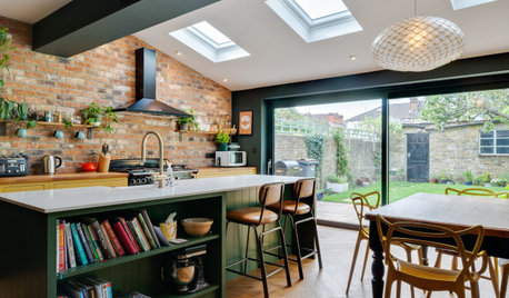 Kitchen Tour: Rich Colour and Texture in an Extended 1930s Home