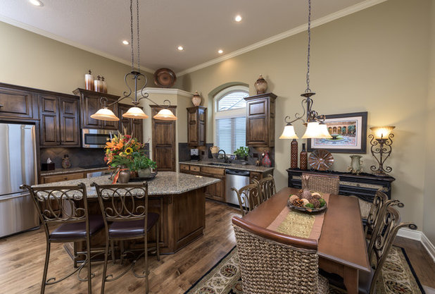 American Traditional Kitchen by R Designs, LLC.