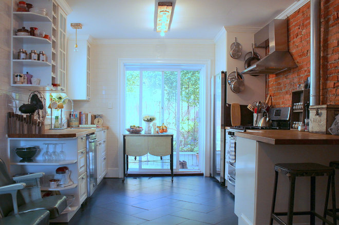 Eclectic Kitchen by Sara Bates