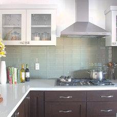 Transitional Kitchen by DAYSTAR DESIGN LAB