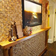 Traditional Kitchen by Adirondack Camp Design LLC