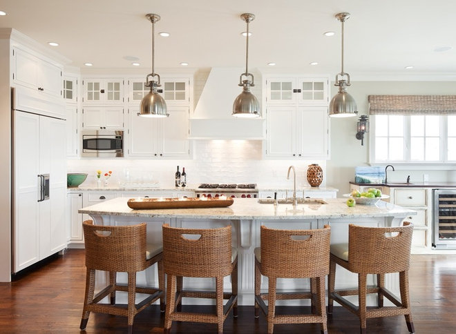 Beach Style Kitchen by Richard Bubnowski Design LLC