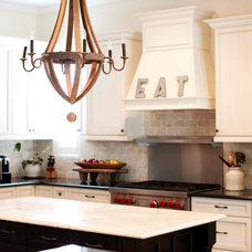 Transitional Kitchen by The Blue Moon Trading Company