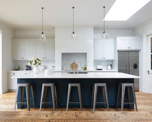 Navy Kitchen Design Ideas Renovations Amp Photos