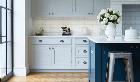 Trend Alert: Softer Colour Palettes on Kitchen Cabinets