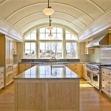 Transitional Kitchen by Robb Construction Company
