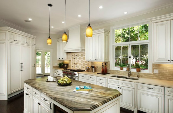 Traditional Kitchen by Michael Kelley Photography