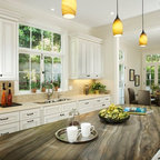 Southern California Homes - Traditional - Kitchen - Los Angeles - by Michael Kelley Photography