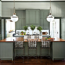 Traditional Kitchen by Artisan Group Stone and Wood Countertops