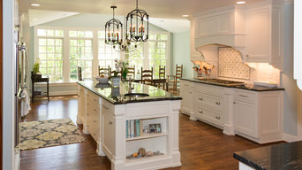 Southern Traditional White Kitchen