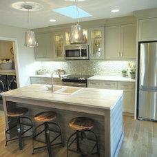 Transitional Kitchen by A Fine Design