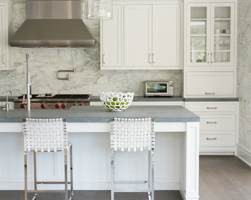 Zimbabwe gray granite kitchen design ideas remodel pictures houzz for Kitchen designs zimbabwe