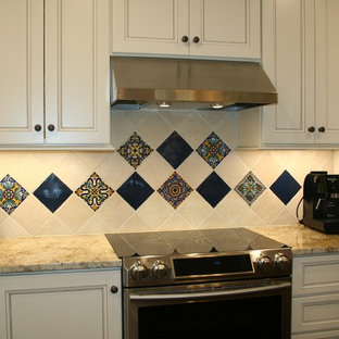 Southwest Influenced White Kitchen