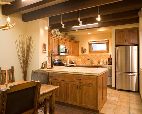 Best small southwestern kitchen design ideas remodel for Southwestern kitchen designs