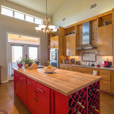 Transitional Kitchen by Anderson Fine Homes